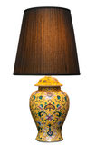 Vintage table lamp Stock Images