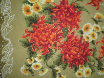 Vintage tablecloth pattern Royalty Free Stock Photography