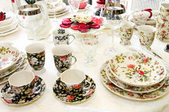 Vintage tabletop Royalty Free Stock Images
