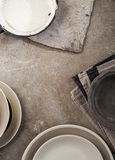 Vintage tableware Royalty Free Stock Images
