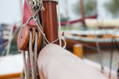 Vintage Tackle and Rope Stock Photography
