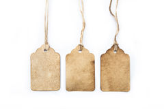 Vintage tags Stock Photography