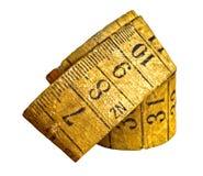 Vintage tailoring measuring tape Stock Photo