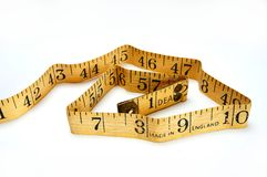 Vintage Tape Measure Royalty Free Stock Photography
