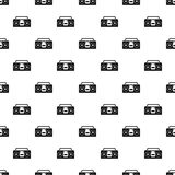 Vintage tape recorder pattern vector Royalty Free Stock Photo