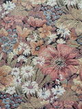 Vintage tapestry. Floral vintage tapestry texture suitable as background Stock Photo