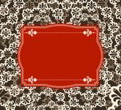 Vintage tapestry background. Stock Photo