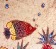 Vintage tapestry fabric carpet Detail Stock Image