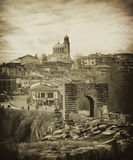 Vintage tarnovo landscape Stock Photos