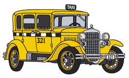 Vintage taxi Stock Images