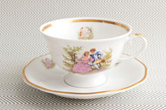 Vintage Tea Cup Royalty Free Stock Photos
