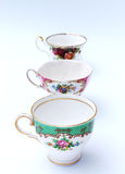 Vintage Tea Cups Royalty Free Stock Images