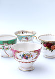 Vintage Tea Cups Stock Images
