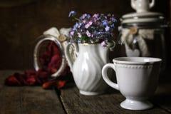 Vintage tea rose dry petal Royalty Free Stock Photography