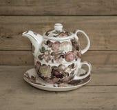 Vintage Tea Set Stock Photos