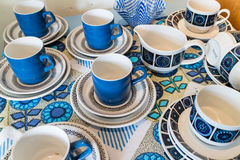 Vintage Tea Set Stock Image