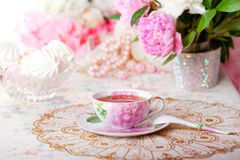 Vintage tea Royalty Free Stock Photography