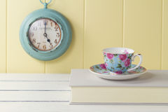 Vintage tea time Royalty Free Stock Image