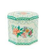 Vintage tea tin box Royalty Free Stock Photos
