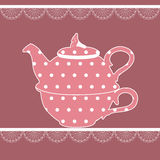 Vintage teapot Royalty Free Stock Images