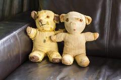 Vintage Teddy Bears Foto de Stock
