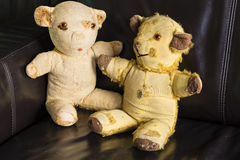 Vintage Teddy Bears Imagenes de archivo