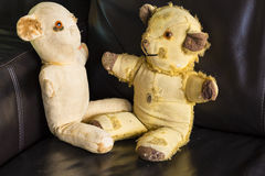 Vintage Teddy Bears Imágenes de archivo libres de regalías