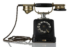 Vintage telephone Stock Photos