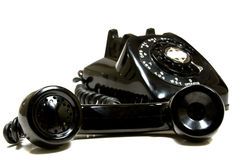 Vintage Telephone Stock Photo