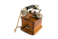Vintage Telephone. A very old phone from the 30s Royalty Free Stock Photography