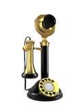 Vintage Telephone. Isolated on white background Stock Illustration