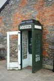 Vintage Telephone Booth On A Street In Rural Ireland Royalty Free Stock Photography