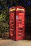 Vintage Telephone Booth Royalty Free Stock Photos