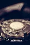 Vintage Telephone Close Up Royalty Free Stock Photography