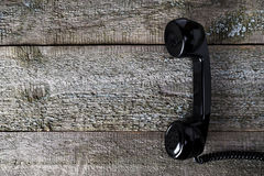 Vintage telephone handset Stock Photography