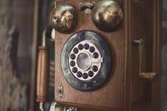 Vintage telephone Royalty Free Stock Image