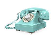 Vintage Telephone Isolated Royalty Free Stock Image