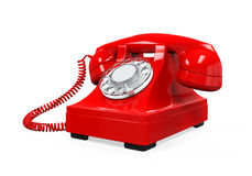 Vintage Telephone Isolated Stock Images