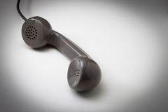 Vintage telephone receiver Royalty Free Stock Images