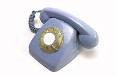 Vintage telephone receiver Royalty Free Stock Photos