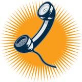 Vintage Telephone Retro Style Stock Image