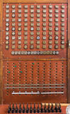 Vintage telephone switchboard Stock Photography