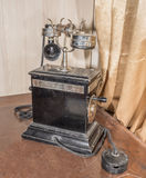 Vintage Telephone Table, 1920 Stock Photography
