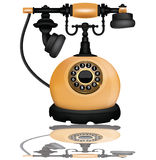 Vintage telephone,vector Royalty Free Stock Photos