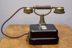 Vintage telephone Stock Image