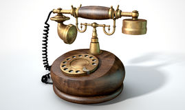 Vintage Telephone  Stock Photography