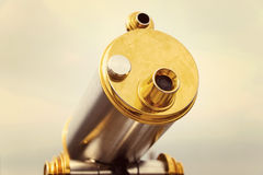 Vintage telescope Royalty Free Stock Photos