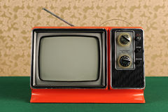 Vintage Television Royalty Free Stock Photo