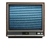 Vintage television stock photos