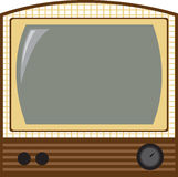 Vintage Television Stock Image
